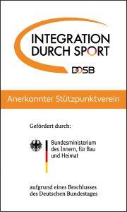 Integration durch Sport/DOSB - Anerkannter Stützpunktverein